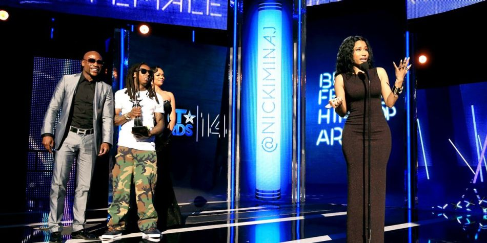 062914-Shows-BET-Awards-Show-Highlights-NIcki-Minaj-Acceptance-Speech